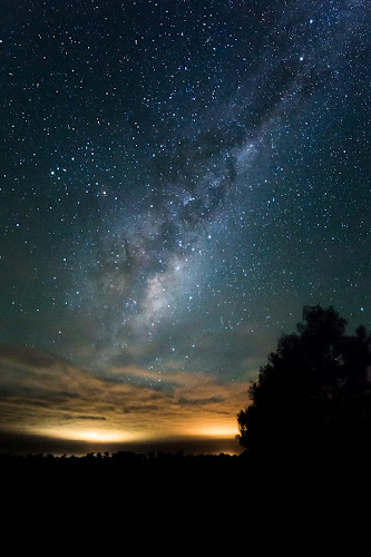 Milky way over Morgiana by Gill Fry - Landscapes Starscapes ( planets, planet, star gazing, night view, night scene, stars, star, night, night shot, nightscape, milky way,  )