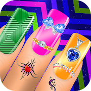 Nail Art Designs - Nail Manicure Games for Girls