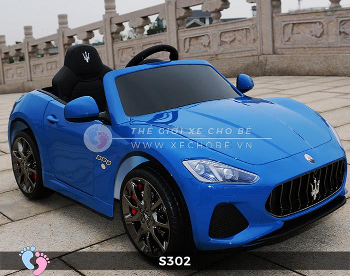 Ô tô cho trẻ em cao cấp Maserati S-302 10