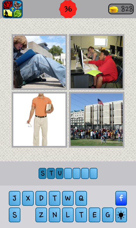 What word 4 pics- screenshot