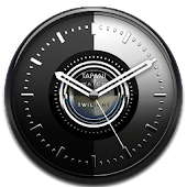TWILIGHT Designer Clock Widget