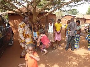 Photo: le lendemain, au village de Gbongbonhoué