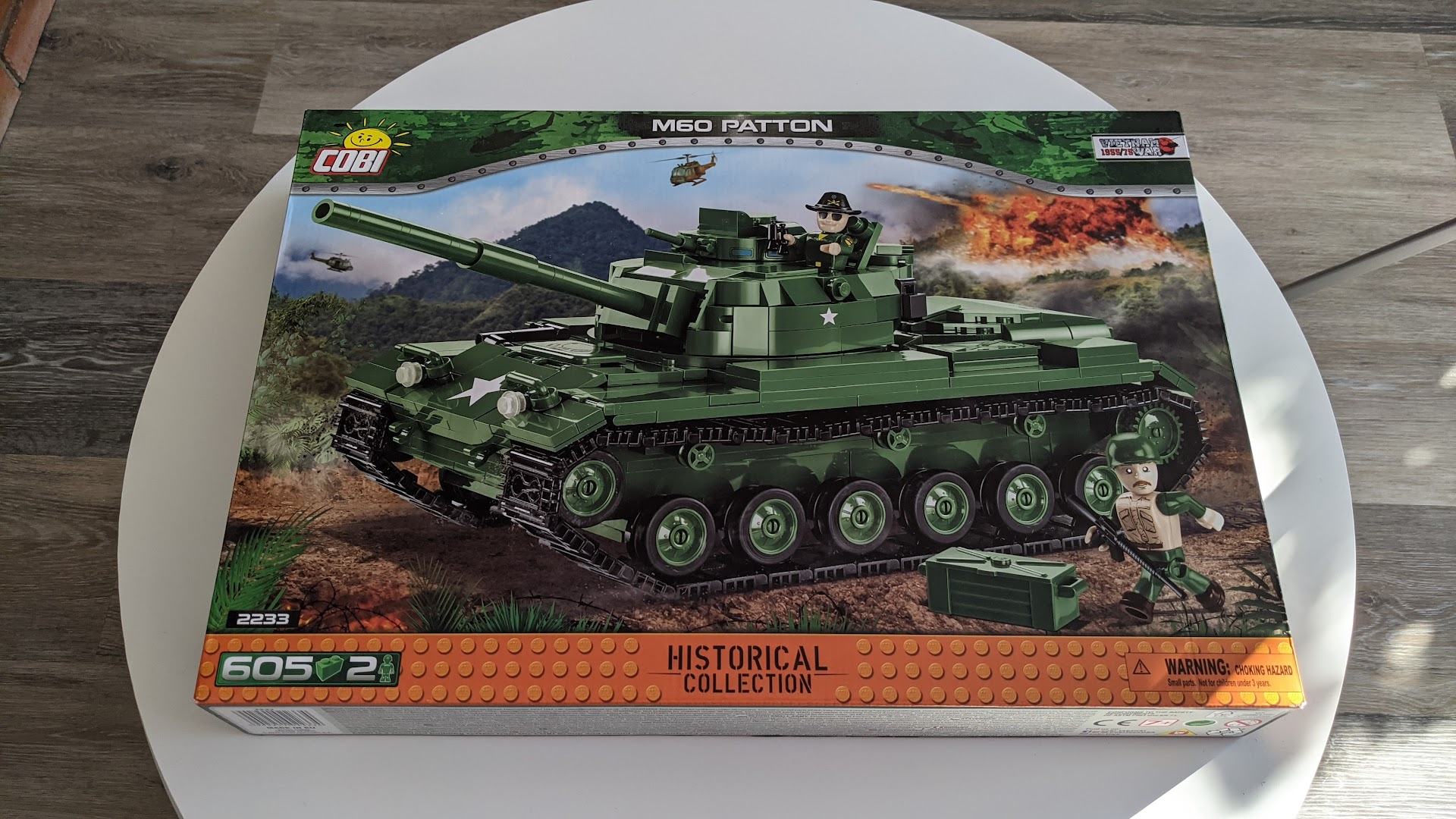 The COBI M60 Patton Box