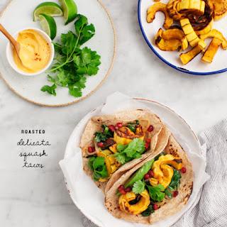 Roasted Delicata Squash Tacos