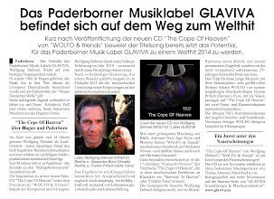 """Photo: -------------------------------------------------------------------- GLAVIVA Sounddesign & Musikproduktion WOLFO & friends • The Cope Of Heaven CD Pressetext """"Welthit 2014"""" © Glaviva 2014: www.glaviva.eu -------------------------------------------------------------------- """"The Cope Of Heaven"""" ist ab sofort erhältlich. Erwerben Sie Ihr persönliches Exemplar z.B. bei:  iTunes: https://itunes.apple.com/album/the-cope-of-heaven-ep/id722875145?at=10lGeA  Amazon: http://www.amazon.de/The-Cope-Of-Heaven-Wolfo-Friends/dp/B00FRC7K40/"""