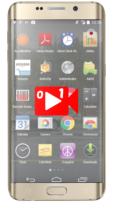 #7. Total Screen Recorder (Android)