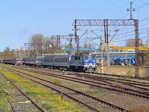 """Photo: EU07-331, TLK """"Zefir"""" Kołobrzeg - Kraków Główny {szlak Ustronie Morskie - Kołobrzeg; 2015-05-03}"""