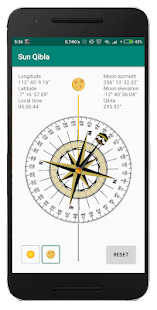 Download Sun Qibla - Find Qibla using Sun position For PC Windows and Mac apk screenshot 2