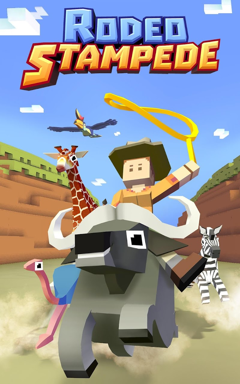 Rodeo Stampede:Sky Zoo Safari Screenshot