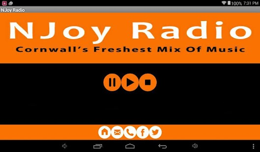 NJoy Radio Cornwall- screenshot thumbnail