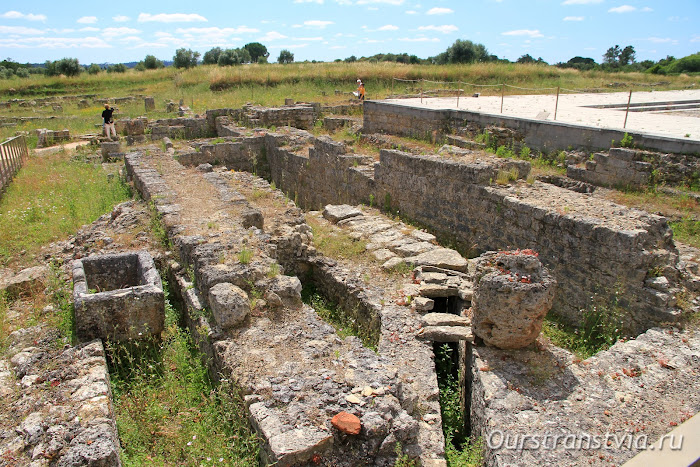 Археологическая зона Конимбрига, Португалия