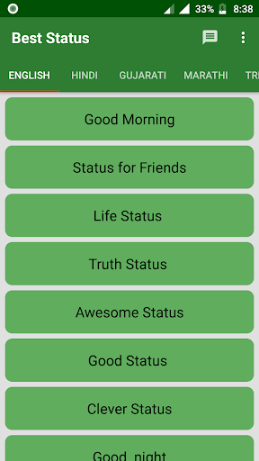 Best Status 2019 - Quotes, Shayris, Jokes 1.0.4 screenshots 1