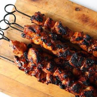 Chicken Kebabs.