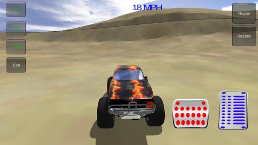 몬스터 사막 자동차 시뮬레이터