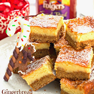 Gingerbread Chess Bars.