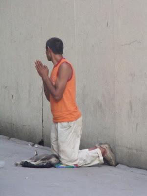 Preghiera di strada di andrea86