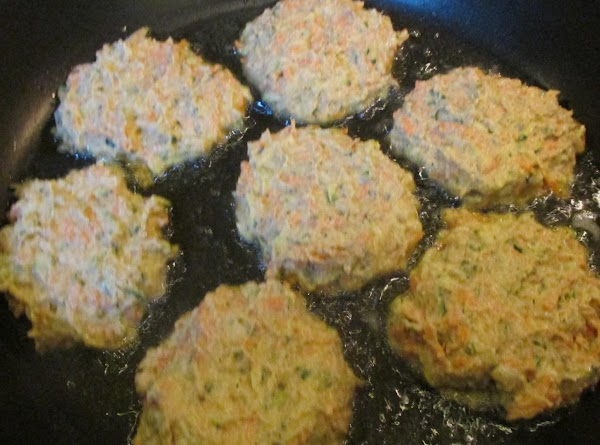 Shape into desired patty size and add to skillet and cook over medium low...