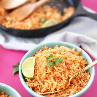 THE EASIEST MEXICAN RICE.