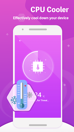 Max Security - Free Phone Booster,COOLER & CLEANER 1.0.2 screenshot 2093549