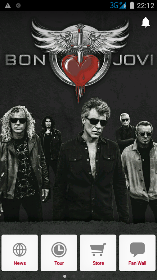 Bon Jovi – Official- screenshot