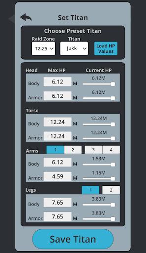 TT2 Raid Optimizer screenshots 4