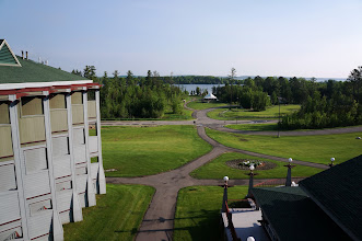 Photo: View of Everetts Bay of Lake Vermillion from 5th-floor hotel room.