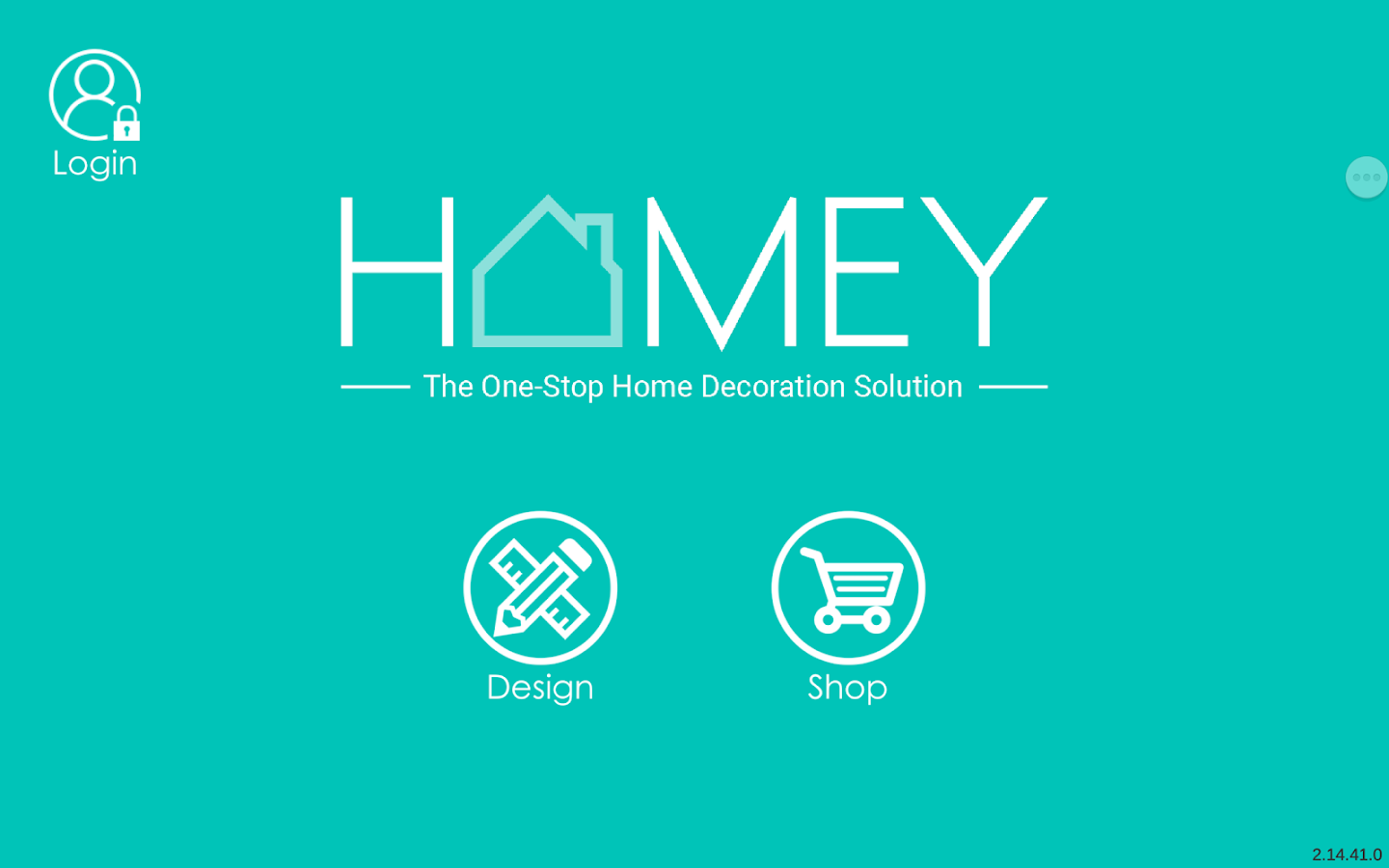 Homey- screenshot