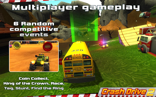 Crash Drive 2: 3D racing cars 3.55 screenshots 1