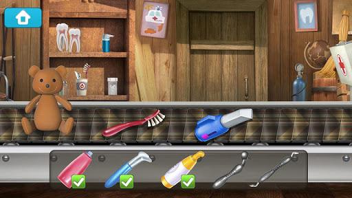 Masha et Michka: Jeux de Dentiste pour Enfant  captures d'u00e9cran 2