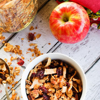 Nutty Spiced Apple Granola