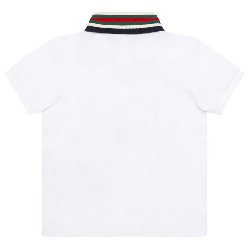 Thumbnail images of Gucci Tiger Collar Top