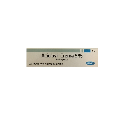 ACICLOVIR SAIMED CRM 5%  5G