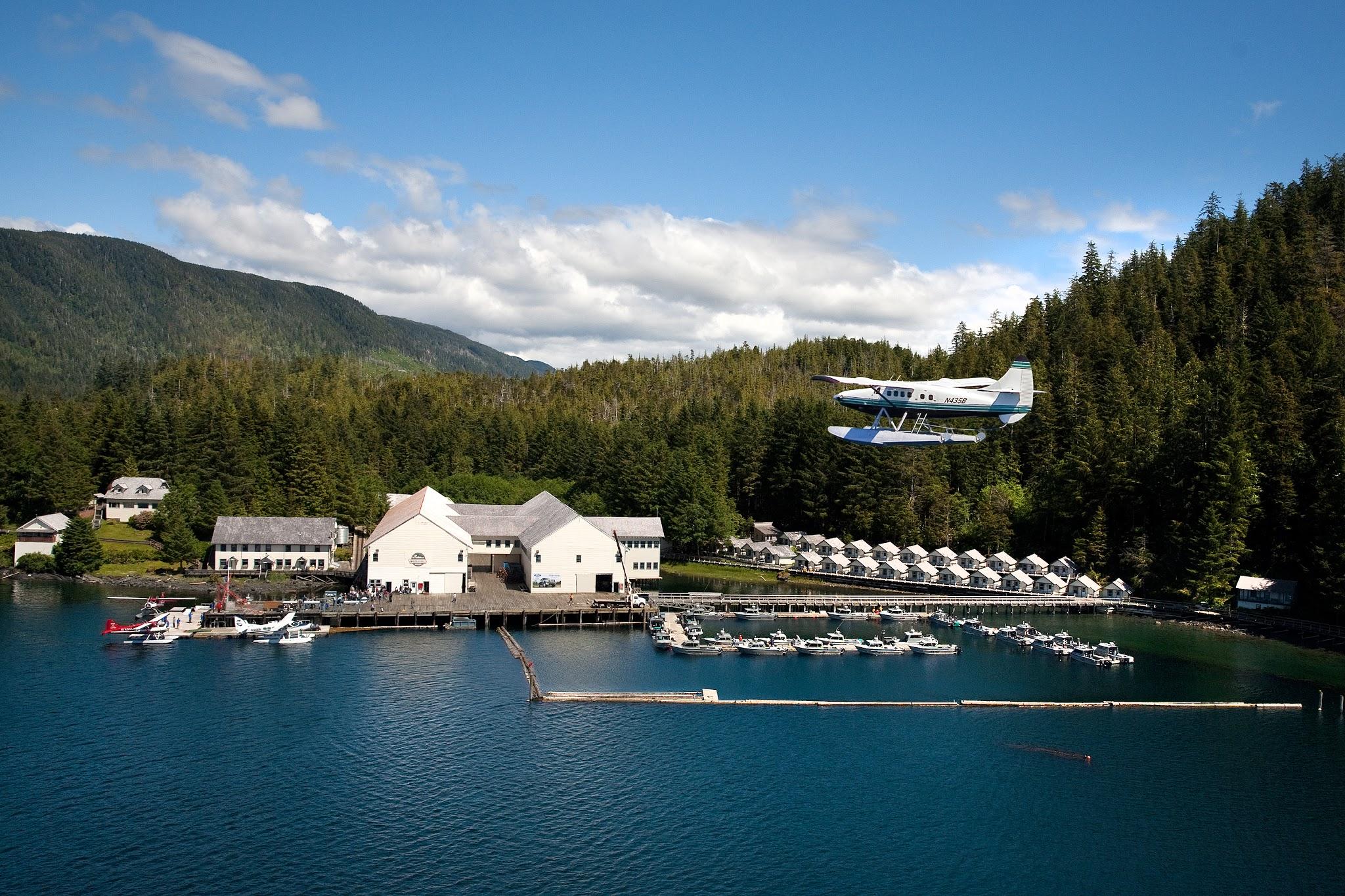Waterfall Resort Alaska reviews | Fishing at Waterfall Resort Alaska. - Ketchikan AK
