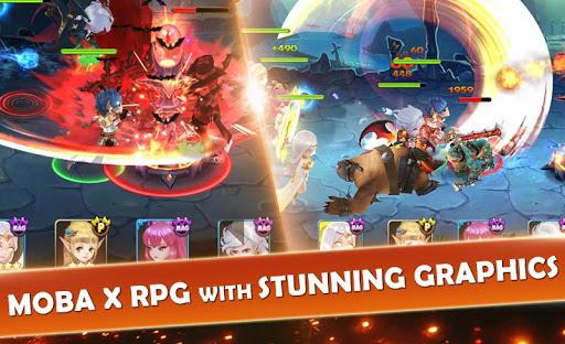 7 Paladins NA: 3D RPG x MOBA 1.1.9 screenshots 8