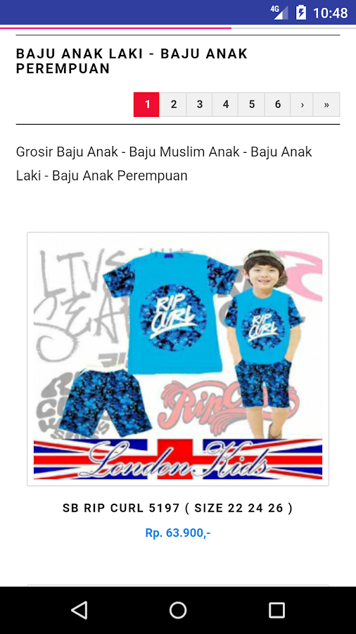Bursa Baju Anak- screenshot