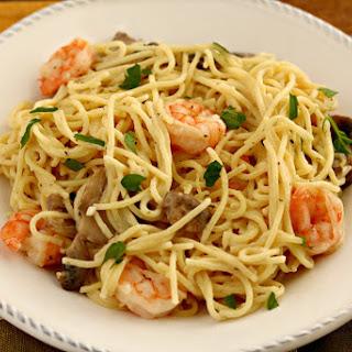 Shrimp Mushroom Lemon Pasta Recipes