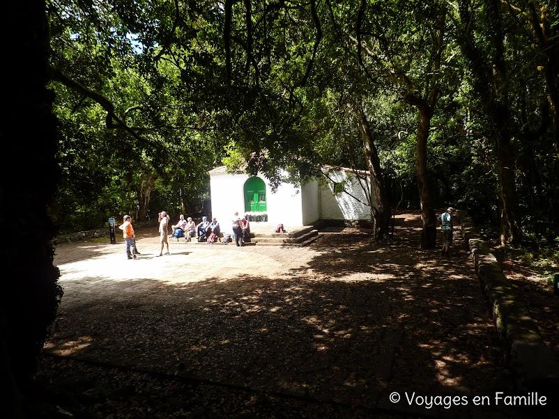 Rando El Cedro - Hermigua - Ermita de Lourdes