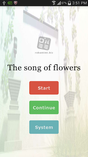 The song of flowers