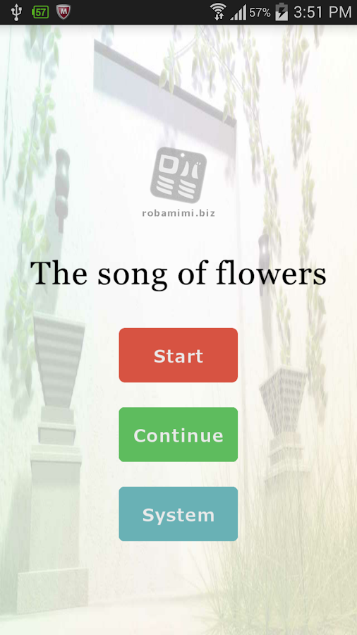 The song of flowers- screenshot