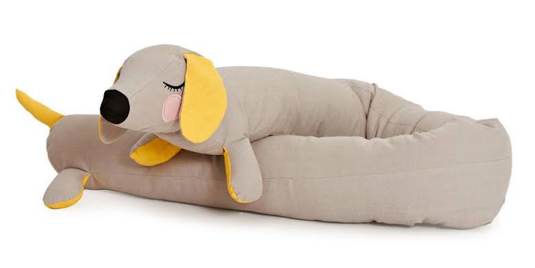 Roommate - Lazy Long Dog Grey