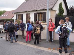 Photo: Arrêt à St Arnoult en Yvelines (78)
