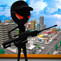 Stickman Assassin 18+ icon