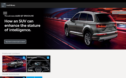 Audi Library- screenshot thumbnail