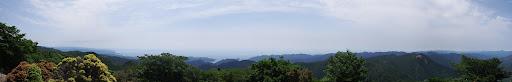 コブシ嶺からパノラマ1