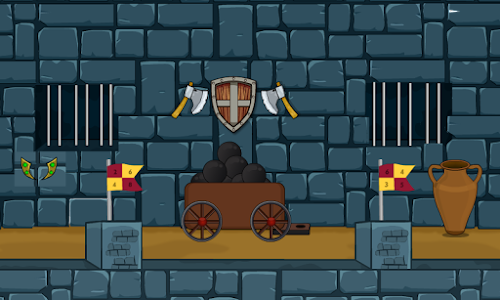 Blue Castle Escape screenshot 1