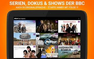 Screenshot of dailyme TV, Serien & Fernsehen