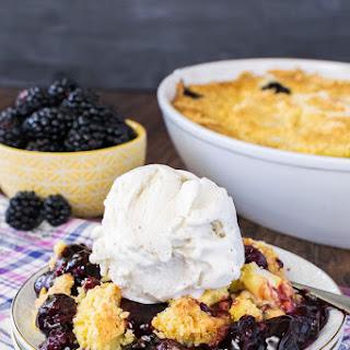 Blackberry Lemon Dump Cake.
