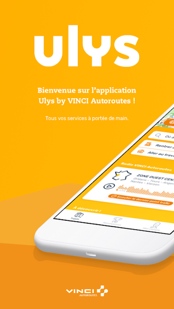 Ulys by VINCI Autoroutes Android App Screenshot