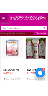 Distributor Produk Herbal | DavitHerbalCom- screenshot thumbnail