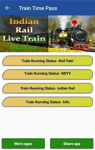 Indian Train Live Status, PNR Status : Time pass screenshot 3